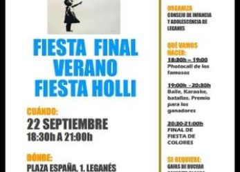 Fiesta Holli final de verano por Save the Children