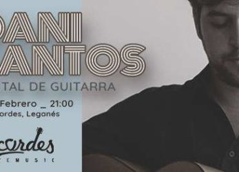 Recital de guitarra, flamenco y Jazz Dani Santos