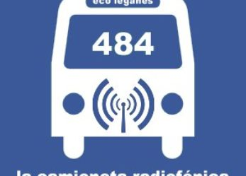 484, la camioneta de Leganés