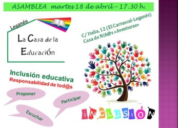 Asamblea Inclusión Casa Educación