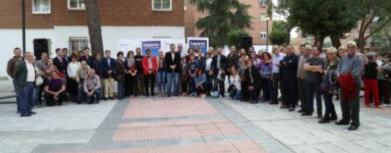 San Nicasio ya cuenta con una plaza homenaje a Francisco Pérez, impulsor del movimiento vecinal en el barrio