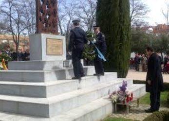 Homenaje a las víctimas de Leganés del 3 de abril