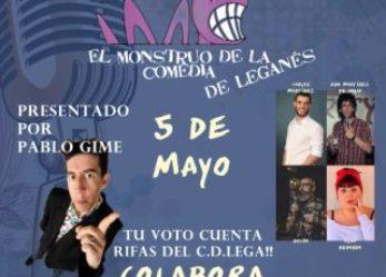 """Arranca la cuarta edición del Concurso Nacional de Monólogos de Humor """"El Monstruo de la Comedia"""" de Leganés"""