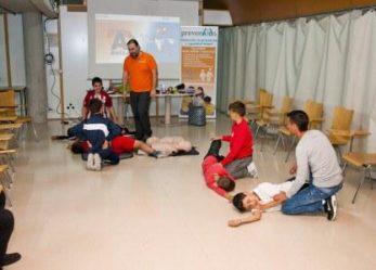 La campaña 'Leganés tiene RED' formará a 500 deportistas locales sobre cómo actuar ante casos de emergencia