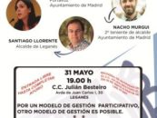 Acto Debate sobre los modelos de gestión municipal