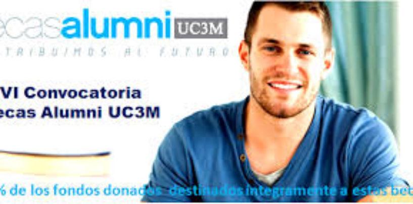 Becas Alumni 2017 de la Universidad Carlos III de Madrid (UC3M): Construyendo futuro