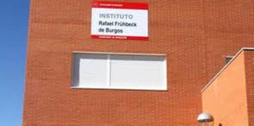 Lista provisonal de admitidos en RF de Burgos, CEIP Angel González y CEIP Manuel Vázquez Montalbán
