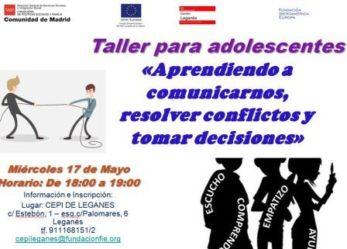 Actividades CEPI Leganés 17 y 18 de mayo