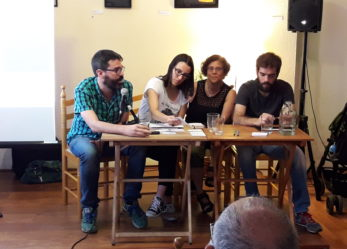 Presentación de El Salto en La Libre de Barrio de Leganés