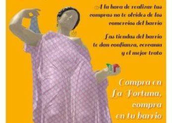 El Ayuntamiento y los comerciantes del barrio ponen en marcha la campaña 'La Fortuna se pone guapa'
