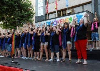Leganés envía un nuevo mensaje a favor de la diversidad con el concierto del coro Voces LGTBI
