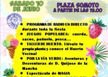 Acciones y actividades promovidas por la Asociación de Vecinos San Nicasio, y otras asociaciones en los próximos días: 8 al 24 de junio