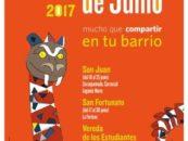 Más de 100 actividades llenarán de color y animación las Fiestas de Junio en los barrios de Leganés