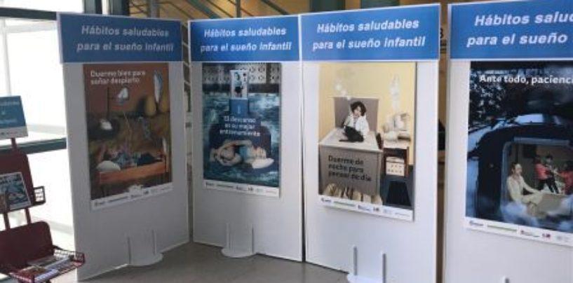 Vecinos y vecinas de Leganés protagonizan la exposición Hábitos saludables para el sueño infantil