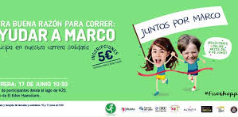 Una carrera para niños en Rivas-Vaciamadrid recaudará fondos para ayudar a Marco, un pequeño de un año con lisencefalia