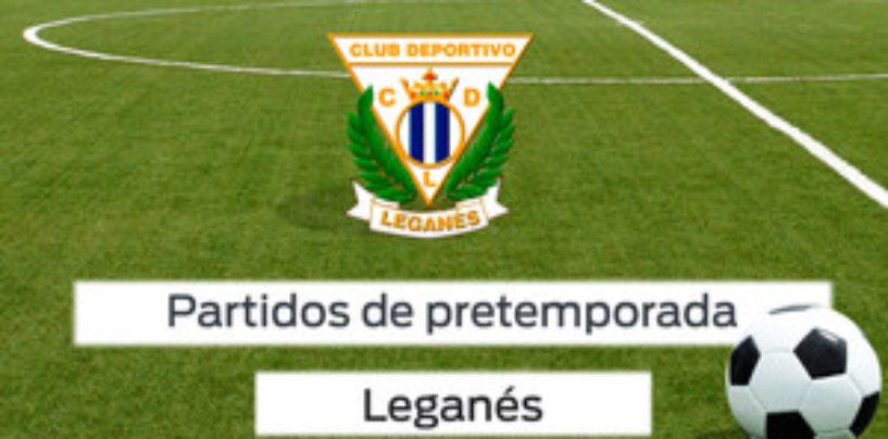 Los partidos de pretemporada del Leganés