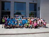 La ciudad de Leganés homenajea a Arturo Carrillo y 'Monkey' Thomas tras completar el proyecto solidario Blue Rides