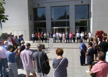 Leganés guarda cinco minutos de silencio en solidaridad con el pueblo de Cataluña
