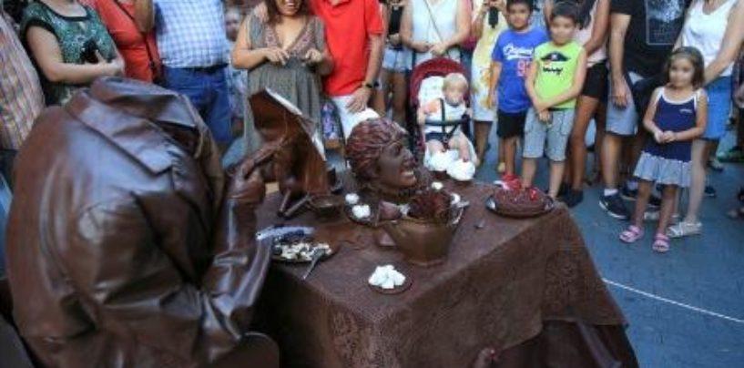 'Mr. Chocolat', Premio Especial del Público y al Mejor Movimiento en el XVI Concurso Internacional de Estatuas Humanas