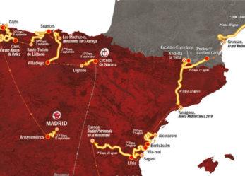 Paso de la Vuelta ciclista a España por Leganés domingo 10 de septiembre