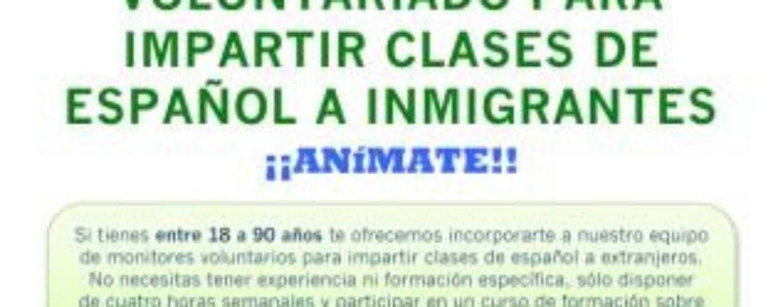 El programa de Lengua y Cultura Española busca nuevos monitores voluntarios para el curso 16-17