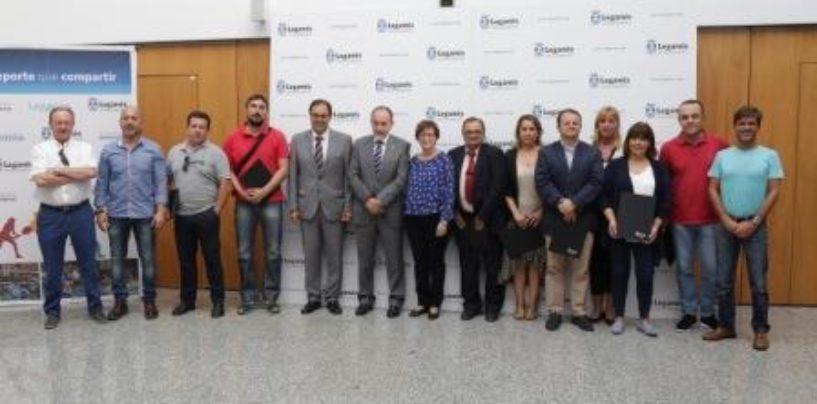 El Ayuntamiento renueva su compromiso con ocho clubes y federaciones que impulsan el deporte base, femenino e inclusivo de Leganés