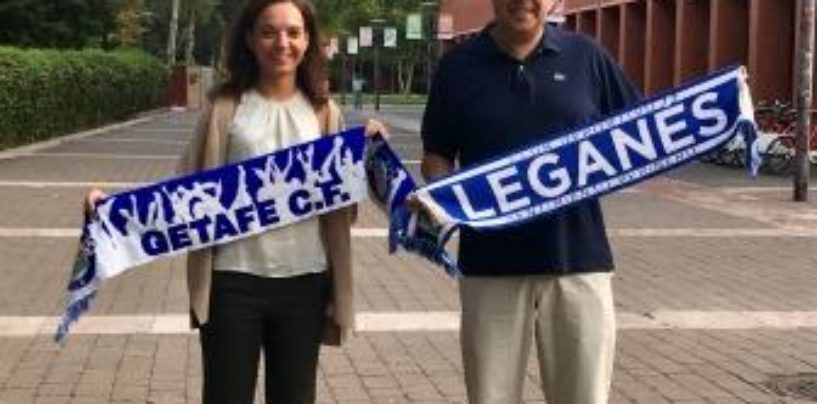Los alcaldes de Leganés y Getafe hacen un llamamiento a la deportividad antes del derbi del Sur de Madrid en Primera División