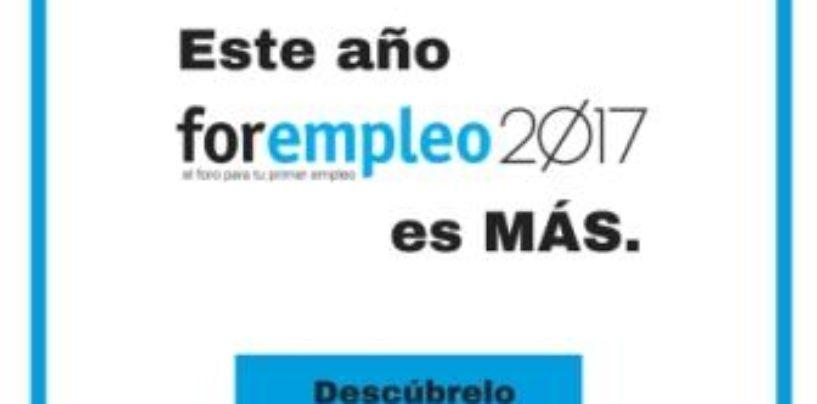 Llega FOREMPLEO 2017: más empresas, más actividades, más empleo – CAMPUS DE LEGANÉS – Universidad Carlos III de Madrid – 4 y 5 de octubre