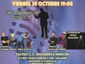 Nueva edición de la Gala Benéfica de Humor SUMA CON TU RISA de Leganés