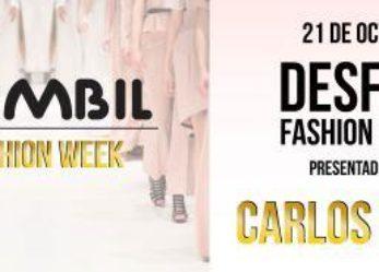 Sambil Fashion Week 21 de octubre con Carlos Baute