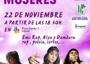 Acto asociaciones vecinales San Nicasio  y Centro contra la Violencia de género
