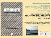 "Acto ""El Amianto una Epidemia Oculta e Impune"""
