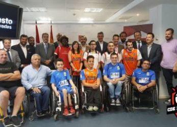 Leganés albergará el I Torneo de Navidad de baloncesto en silla de ruedas
