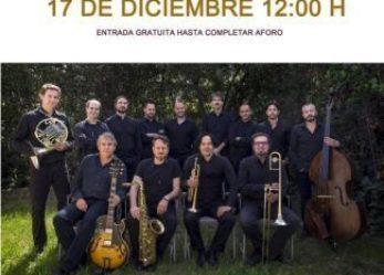 Concierto de Santiago de la Muela Jazz (y verás) Orquesta