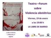 Teatro-fórum sobre violencia obstétrica