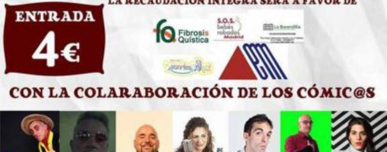 PSU Leganés organiza una gala de monólogos benéficos el 17 de enero en Julián Besteiro
