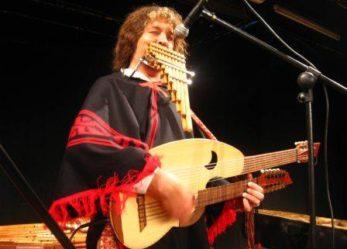 El músico argentino Pablo Nahual actuará en el Centro Cultural Rigoberta Menchú