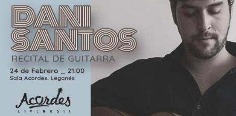 Recital de guitarra, flamenco y Jazz Dani Santos