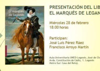 Presentación del libro de Marqués de Leganés