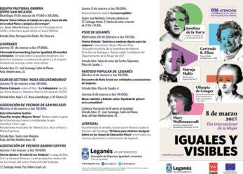 Actos Día Internacional de la Mujer
