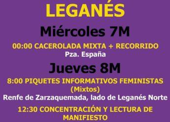 8 de marzo de 2018: Huelga feminista 24h