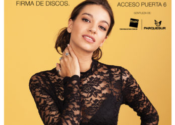 Firma de discos de Ana Guerra de Operación Triunfo en el Centro Comercial Parquesur