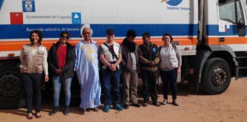 El Ayuntamiento entrega al Sáhara el camión de recogida de residuos donado en un nuevo proyecto de cooperación