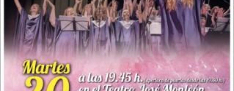 Espectáculo con el coro gospel: Song for my father