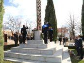 Leganés rinde homenaje a las víctimas del atentado del 11 de marzo y al GEO fallecido en la ciudad el 3 de abril de 2004