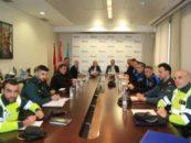 Policía Local, Policía Nacional y Guardia Civil seguirán trabajando conjuntamente para mejorar el dispositivo y vigilancia en La Cubierta
