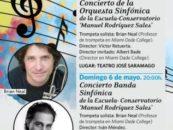 5 y 6 de mayo Conciertos de la Escuela Municipal de Música Pablo Casals de Leganés