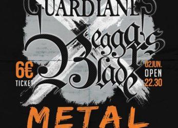 Concierto: Guardianes y Beggar's Blade