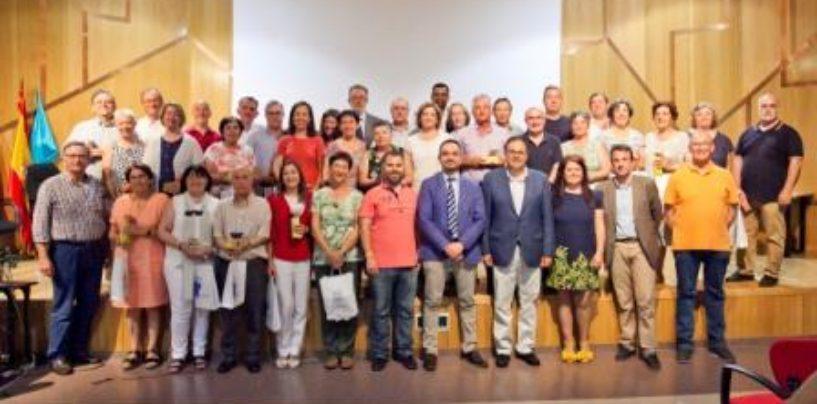 El Ayuntamiento de Leganés rinde homenaje a los maestros y profesores jubilados durante el curso 17-18