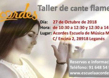 Taller cante flamenco